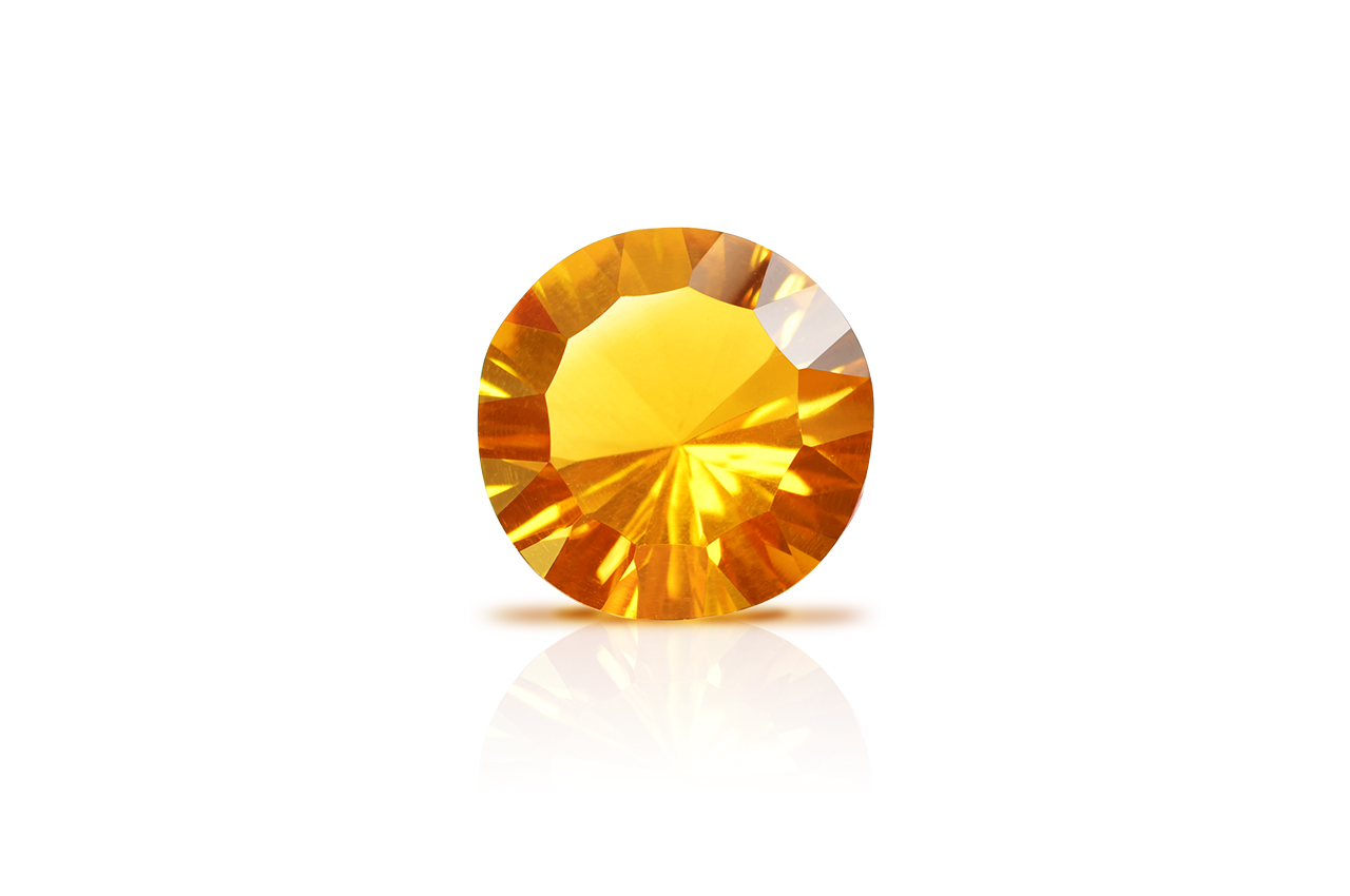 Yellow Citrine Superfine Cutting - 6.5 carats