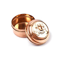 Ganesh Copper container - Big - Set of 12