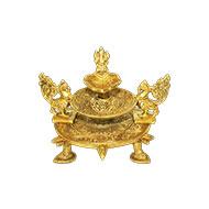 Ganesh Diya in Brass