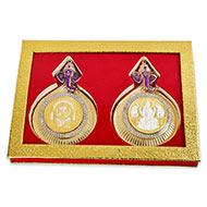 Ganesh Gajalakshmi silver coin - II