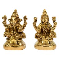 Laxmi Ganesh Pital Murti