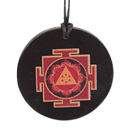 Ganesh Yantra locket on Rosewood