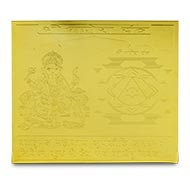 Ganesh Yantra with photo - 5 Inches