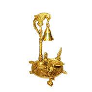 Ganesha Diya  with  Bell