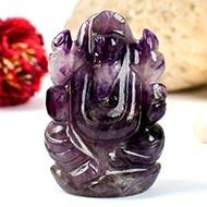 Ganesha in Amethyst - 63 gms