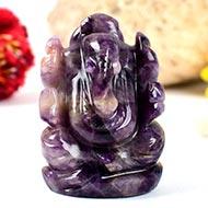 Ganesha in Amethyst - 67 gms - II