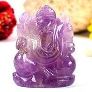 Ganesha in Amethyst - 69 gms