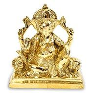 Ganesha in Brass - XII