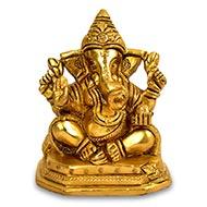 Ganesh Idol in Brass