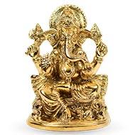 Ganesh Statue in Brass