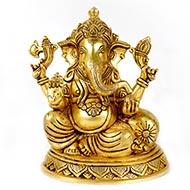 Ganesha in Brass - XXIV