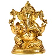 Ganesha in Brass - XXVI