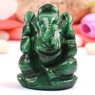 Ganesha in Budd Stone - 108 gms