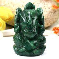 Ganesha in Budd Stone - 109 gms