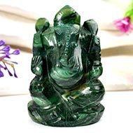 Ganesha in Budd Stone - 114 gms - I
