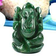 Ganesha in Budd Stone-125 gms