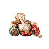 Ganesha in diamond ornaments