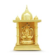 Ganesha In Lead Temple