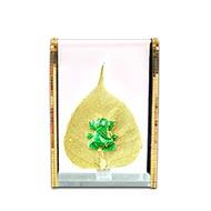 Ganesha on Peepal Leaf
