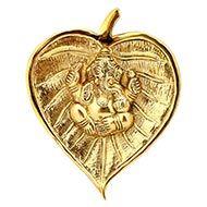 Ganesha on Peepal leaf - II