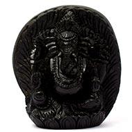 Ganesha Shaligram Murti - II