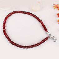 Garnet - Faceted - Bracelet