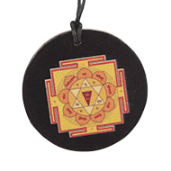Gayatri Yantra locket on Rosewood