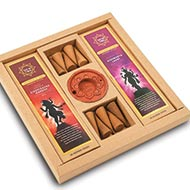 Gift Pack of Incenses and Dhoop Cones