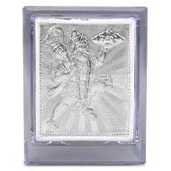 God Hanuman silver frame