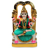 Goddess Kamakshi marble idol