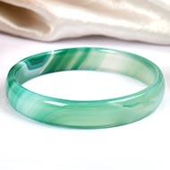 Green Jade Bangle - 15 gms
