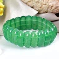 Green Jade Bracelet - Design I
