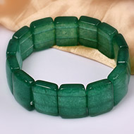 Green Jade Bracelet - Design IV