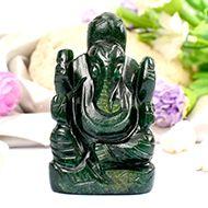 Green Jade Ganesha - 89 gms