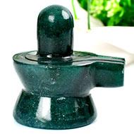 Green Jade Shivlinga - 119 gms