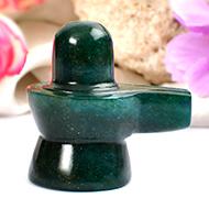 Green Jade Shivlinga - 49 gms