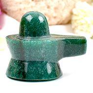 Green Jade Shivlinga - 79 gms