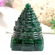 Green Jade Shree Yantra - 112 gms