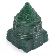 Green Jade Shree Yantra - 121 to 130 gms