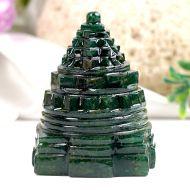 Green Jade Shree Yantra - 122 gms