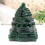 Green Jade Shree Yantra - 128 gms