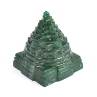 Green Jade Shree Yantra - 141 to 150 gms