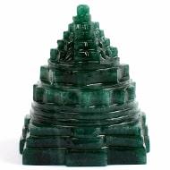 Green Jade Shree Yantra - 150 gms