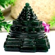 Green Jade Shree Yantra - 166 gms