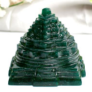 Green Jade Shree Yantra - 192 gms