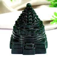 Green Jade Shree Yantra - 208 gms