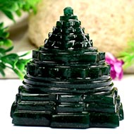 Green Jade Shree Yantra - 222 gms