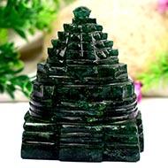 Green Jade Shree Yantra - 224 gms