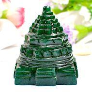 Green Jade Shree Yantra - 236 gms