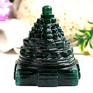 Green Jade Shree Yantra - 243 gms